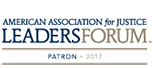 2017 American Association for Justice Leaders Forum Patron 2017